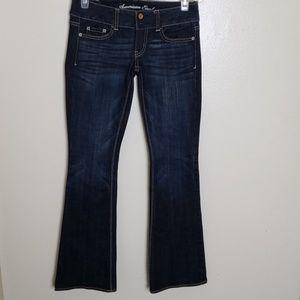 American Eagle Artist flare jean